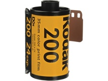 Kodak GOLD 200 Color Negative Film (35mm Roll Film, 24 Exposures)
