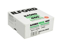 Ilford Delta 400 Professional Black and White Negative Film (35mm Roll Film, 100' Roll)
