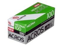 Fujifilm Neopan 100 Acros Black and White Negative Film (120 Roll Film)