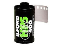 Ilford HP5 Plus Black and White Negative Film (35mm Roll Film, 24 Exposures)