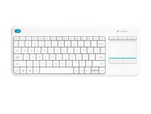 Logitech K400 Plus Wireless Touch Keyboard (White)
