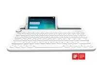 Logitech K480 Bluetooth Multi-Device Keyboard (White)