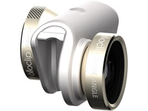 olloclip 4-in-1 Photo Lens for iPhone 6/6s/6 Plus/6s Plus (Gold Lens with White Clip)