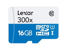 Lexar 16GB High Performance 633x microSDHC UHS-I Memory Card