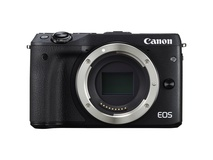 Canon EOS M3 Mirrorless Digital Camera (Body Only, Black)