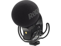 Rode Stereo VideoMic Pro Rycote XY Stereo Condenser Microphone W/ Rycote Lyre Suspension Mount