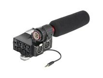 Saramonic SR-NV5 MixMic Audio Adapter with Shotgun Microphone