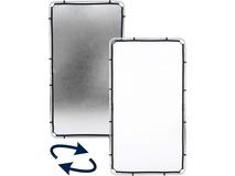 Lastolite 3.6 x 6.6' SkyLite Rapid Fabric Reflector (Silver/White)