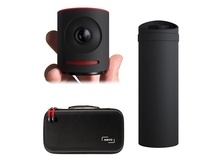 Livestream Mevo Live Event Camera (Black) with Mevo Boost (Black) & Case Kit