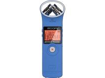 Zoom H1 Ultra-Portable Digital Audio Recorder (Blue)
