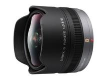 Panasonic Lumix G Fisheye 8mm/F3.5 Lens