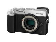 Panasonic Lumix DMC-GX8 Mirrorless Micro Four Thirds Digital Camera (Body Only, Silver)