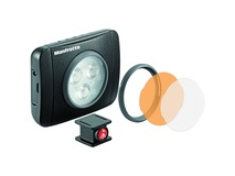 Manfrotto MLUMIEPL-BK Lumimuse 3 On-Camera LED Light (Black)