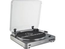 Audio Technica AT-LP60USB Fully Automatic Belt-Drive Turntable (Gunmetal)