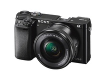 Sony Alpha a6000 Mirrorless Digital Camera with 16-50mm Lens (Black)