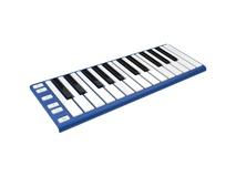 CME Xkey - Mobile MIDI Keyboard (Neon Blue)