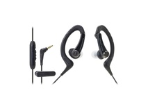 Audio Technica ATH-SPORT1IS SonicSport Waterproof Headphones (Black)