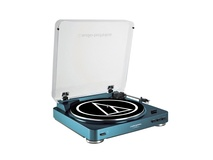 Audio Technica AT-LP60 Belt-Drive Turntable (Blue)