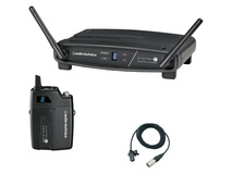 Audio Technica ATW-1101/L System 10 Digital Wireless Lavalier Microphone Set