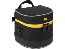 "Ruggard Lens Case 4.75 x 4.5"" (Black)"