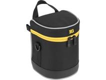 "Ruggard Lens Case 5.0 x 3.5"" (Black)"