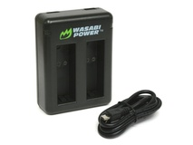 Wasabi Power Dual Charger for GoPro HERO 5