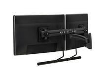 Chief K2 Dual-Display Swing Arm Wall Mount (Black)