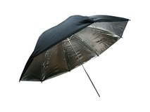 "Phottix Two Layer Reflector Umbrella (40"" ) (Silver/Black)"