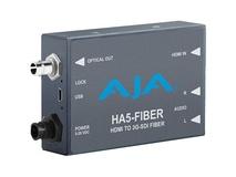 AJA HA5-Fiber HDMI to 3G-SDI Fiber Mini Converter