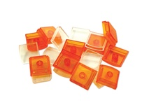 X-keys Orange Keycaps (Pack of 10)