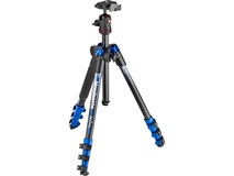 Manfrotto BeFree Color Aluminium Travel Tripod (Blue)