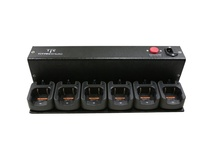 Titan Radio TR6MUC Six Unit Rapid Rate Charger for TR200