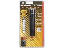 Maglite XL50 LED Flashlight (Black, Clamshell Packaging)